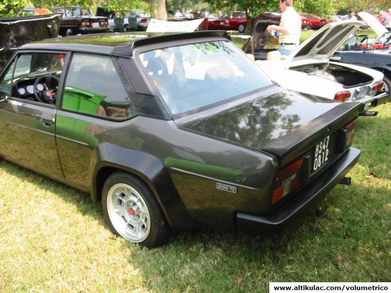 Fiat 131 Abarth Volumetrico 131